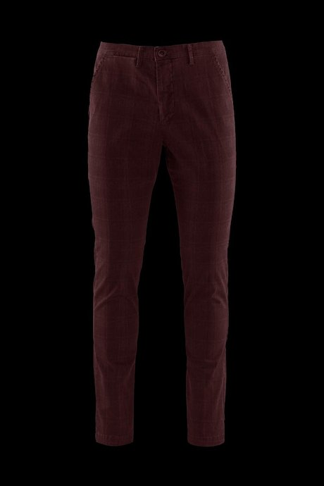 Man's Chino Trouser Wales Check