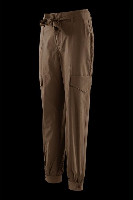 Cargo trousers with sash
