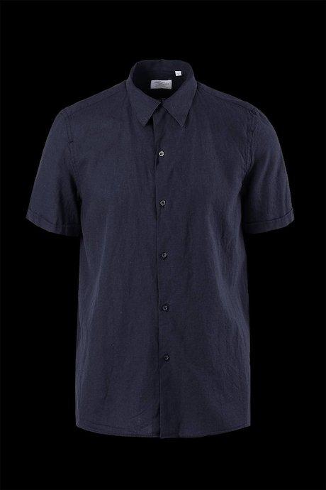 Short sleeve shirt bowling cut