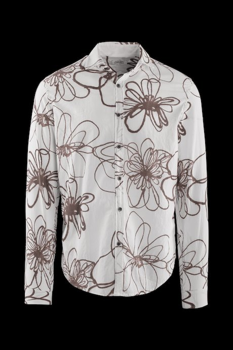 Floral shirt in cotton