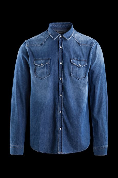 Camicia Texana in Denim