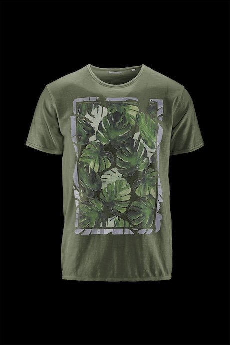 Man's T-shirt Leaf