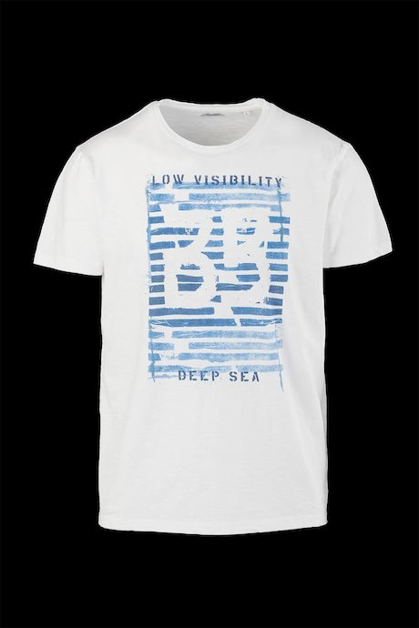 Cotton T-shirt Deep Sea