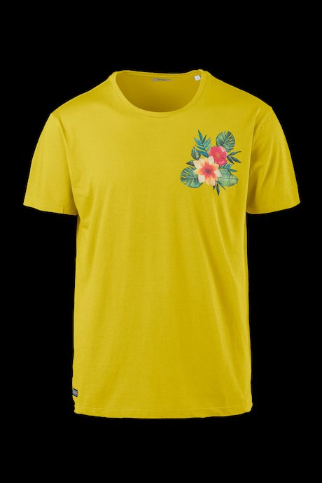 T-shirt Cotone Stampa Floreale