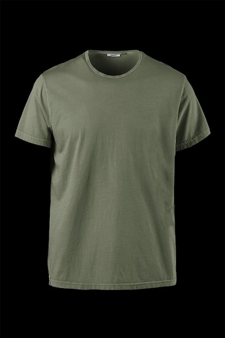 Basic T-Shirt aus Baumwolle