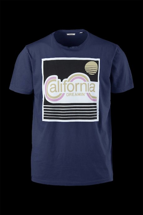 California Dreamin 'T-Shirt aus Baumwolle
