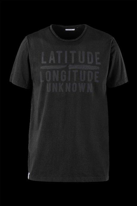 T-shirt Cotone Con Scritta e Logo