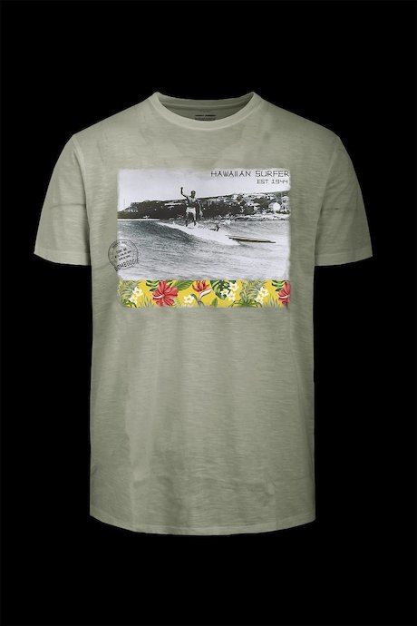 T-shirt Hawaiian Surfer