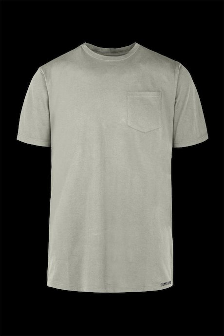 Organic cotton T-shirt with breast pocket