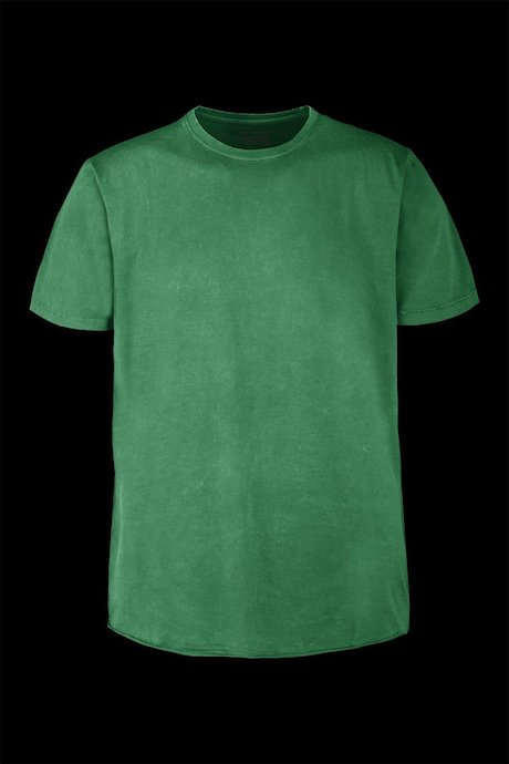 Basic T-shirt garment washed