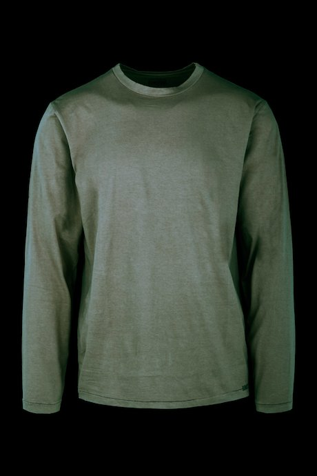 Organic cotton T-shirt long sleeve