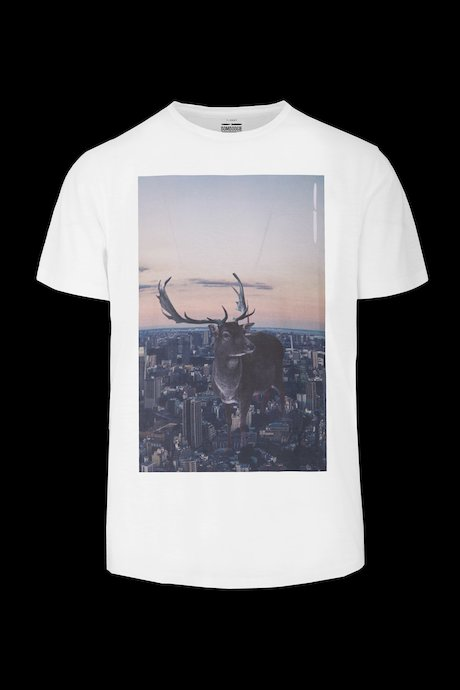 T-shirt Deer on City print