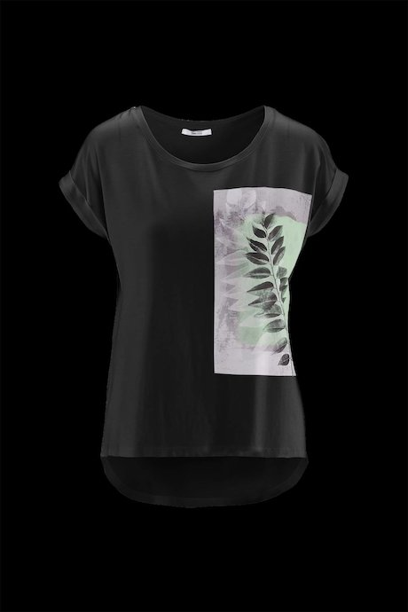 Woman's T-shirt Leaf