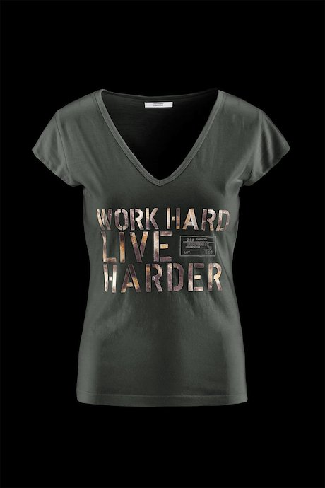 Woman's T-shirt Slim Fit