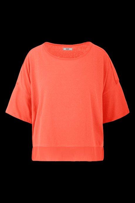Breites Bimaterial T-Shirt