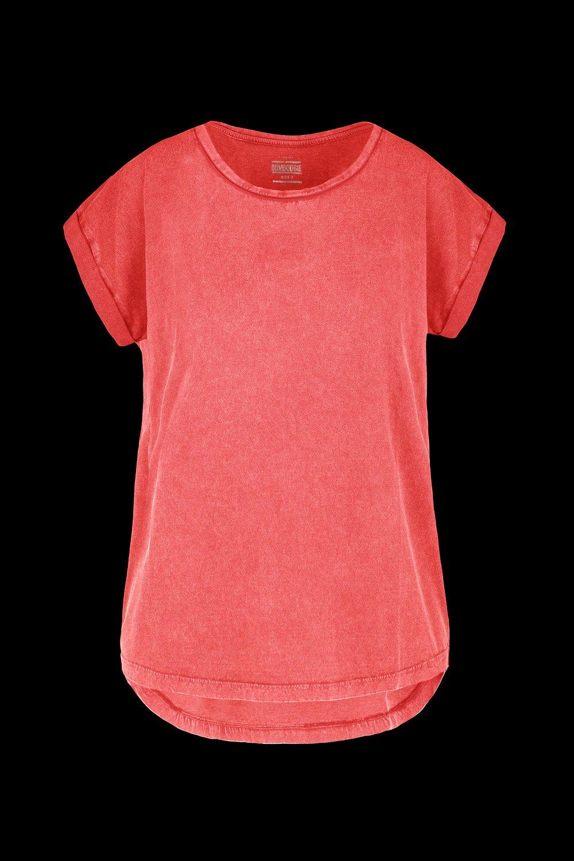 Basic T-shirt garment washed