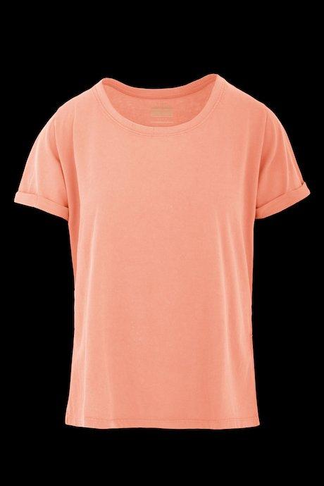 T-Shirt mit Schlitzen