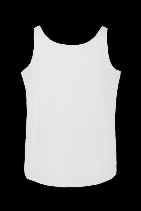 Short tank Corta linen-cotton