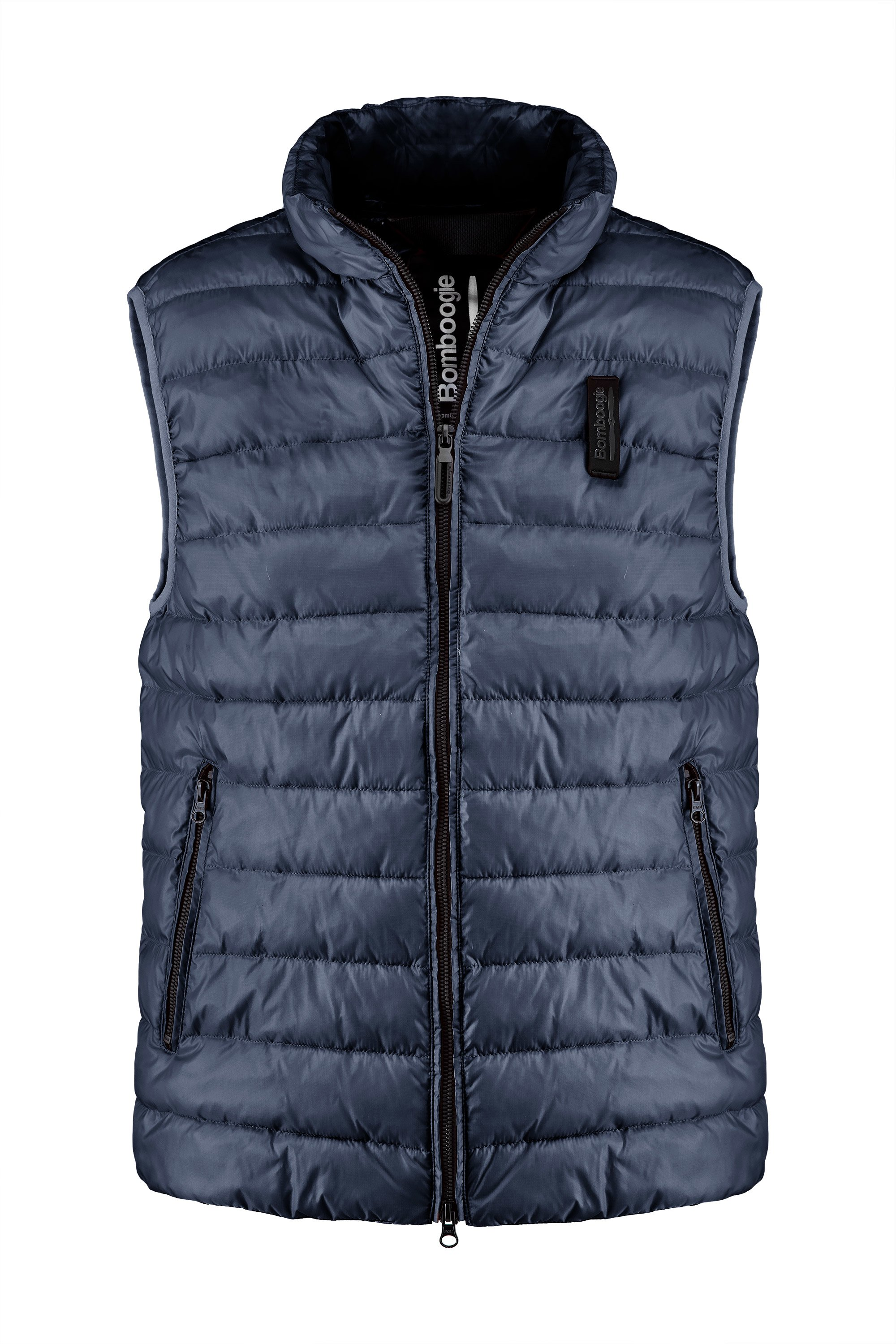 Vest in nylon micro pipstop with recycled PrimaLoft® filling