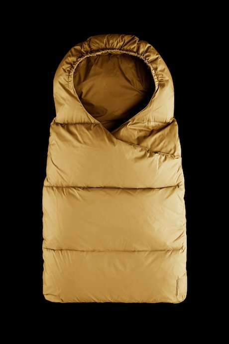 Sleeping bag down padding