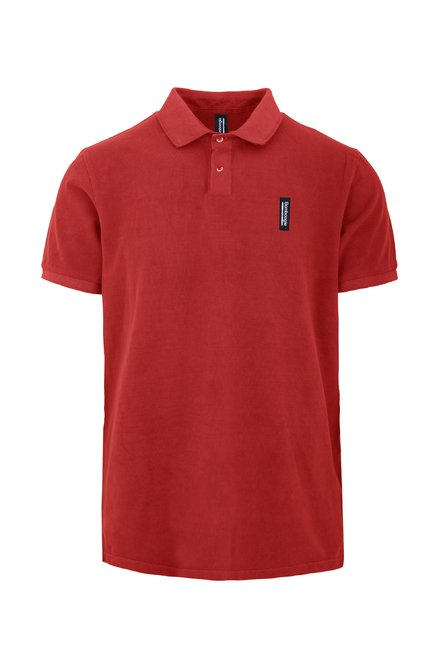 Polo shirt in piquet cotton with 2 buttons
