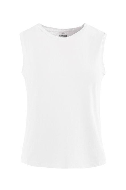 Ärmelloses T-Shirt aus Bio-Baumwolle
