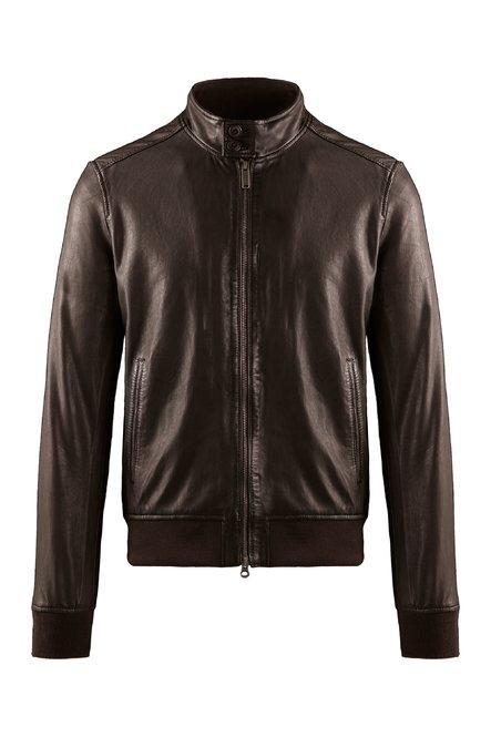 Friz leather jacket