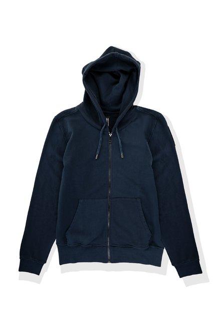 Cotton hoodie with zip
