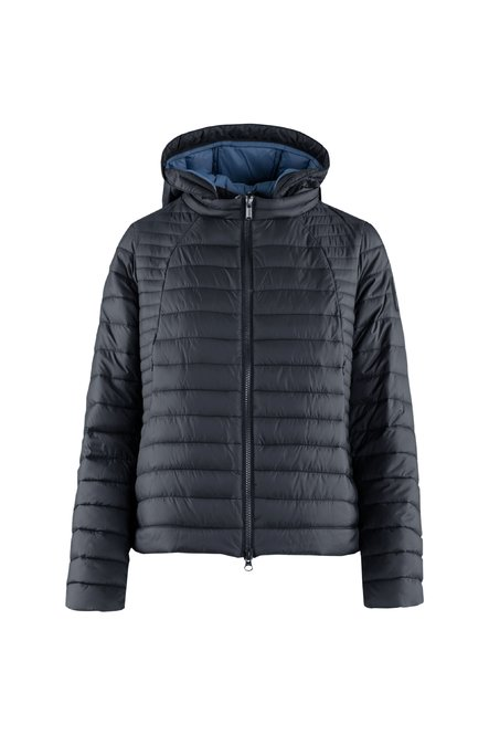 Jacket in Nylon Poplin with synthetic filling
