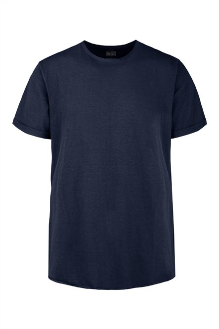 T-shirt in cotton-linen