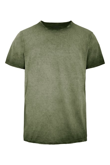 T-shirt cold dyed