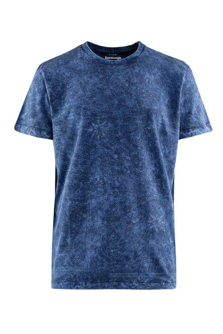 Bandana T-Shirt mit Marmoreffekt