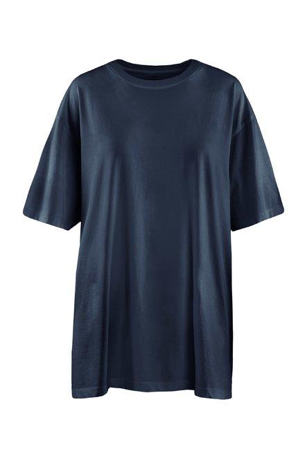 Oversized T-shirt in organic cotton