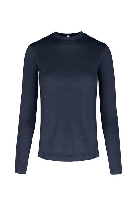 Long sleeve T-shirt in organic cotton
