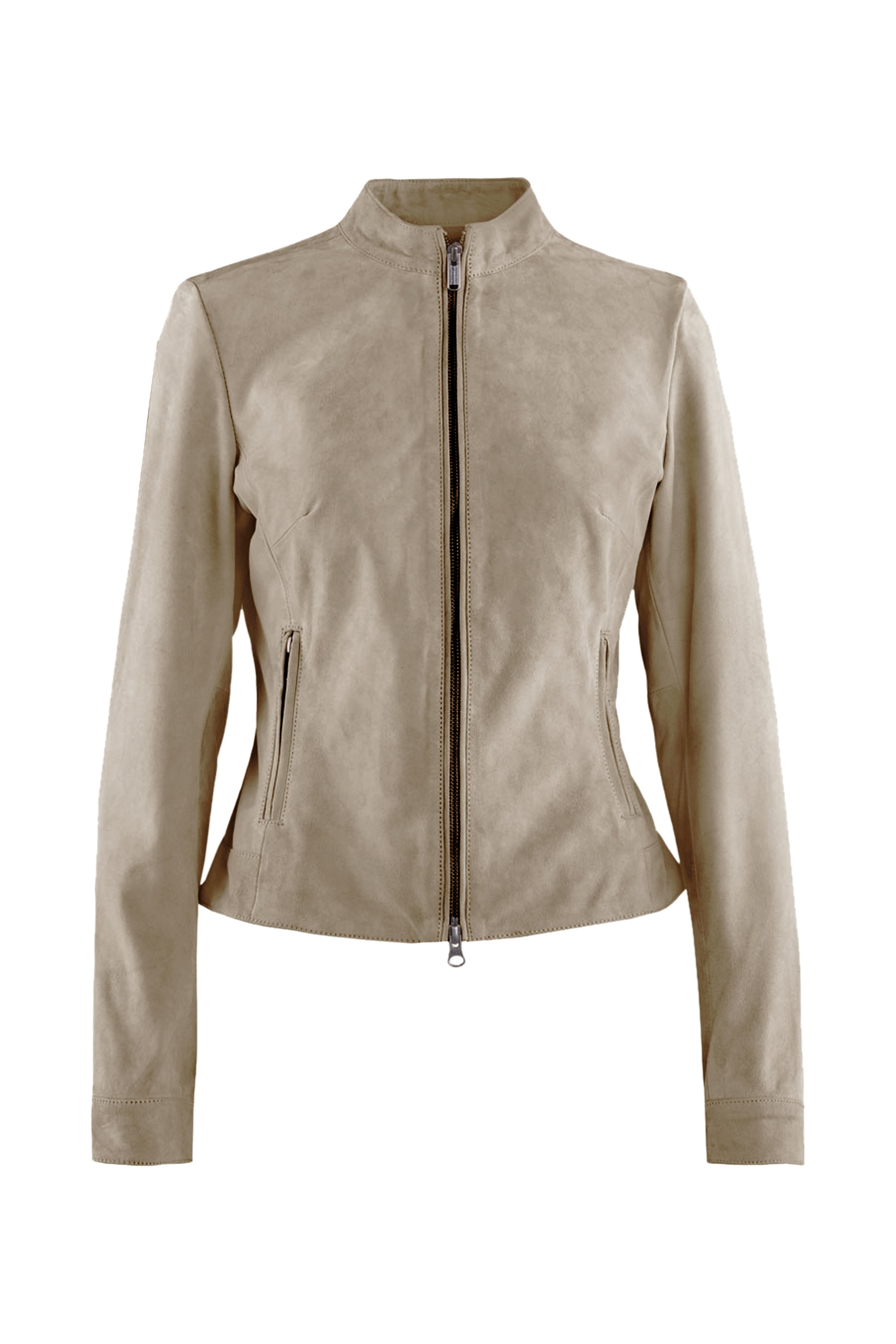 Bell leather jacket suede