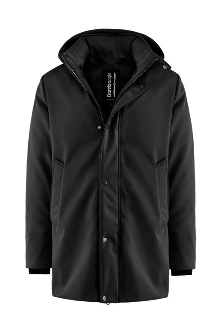 Water resistant coat in nylon with recycled PrimaLoft® filling