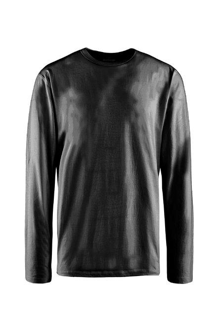 Basic T-Shirt mit langen Ärmeln
