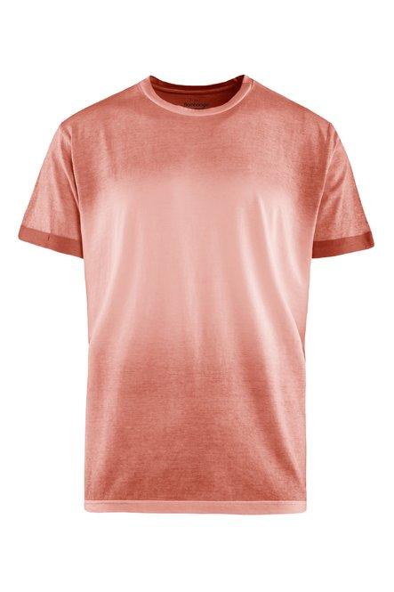 T-shirt spray dyeing