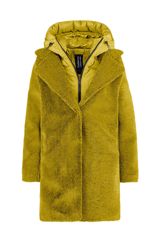 Odessa Overcoat Lamb Sherpa Fleece