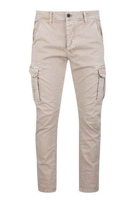 Pantaloni Gum in Twill di Cotone con Tasche Cargo
