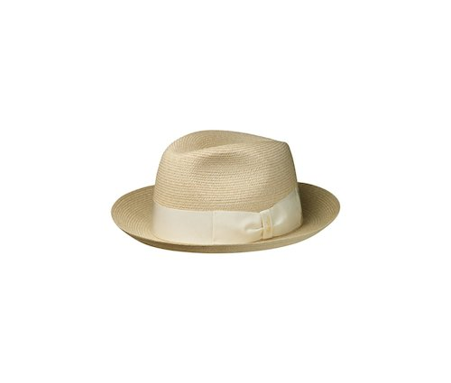 Medium-brim Woven Hemp