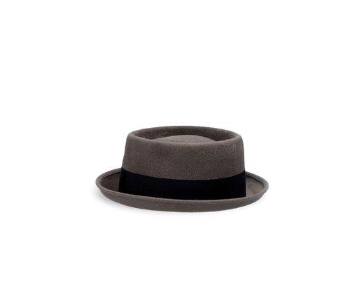 Velour pork pie hat