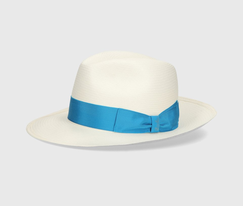 'Dolce' Wide-brimmed Fine Panama