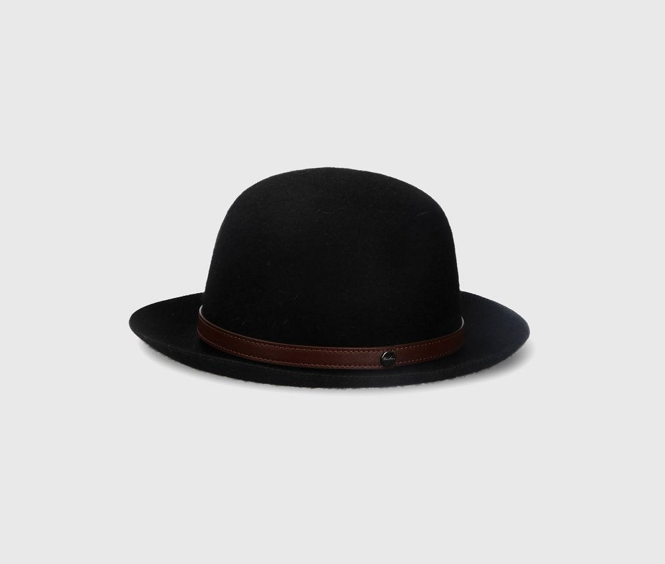 Roll-up Traveller Leather Hatband
