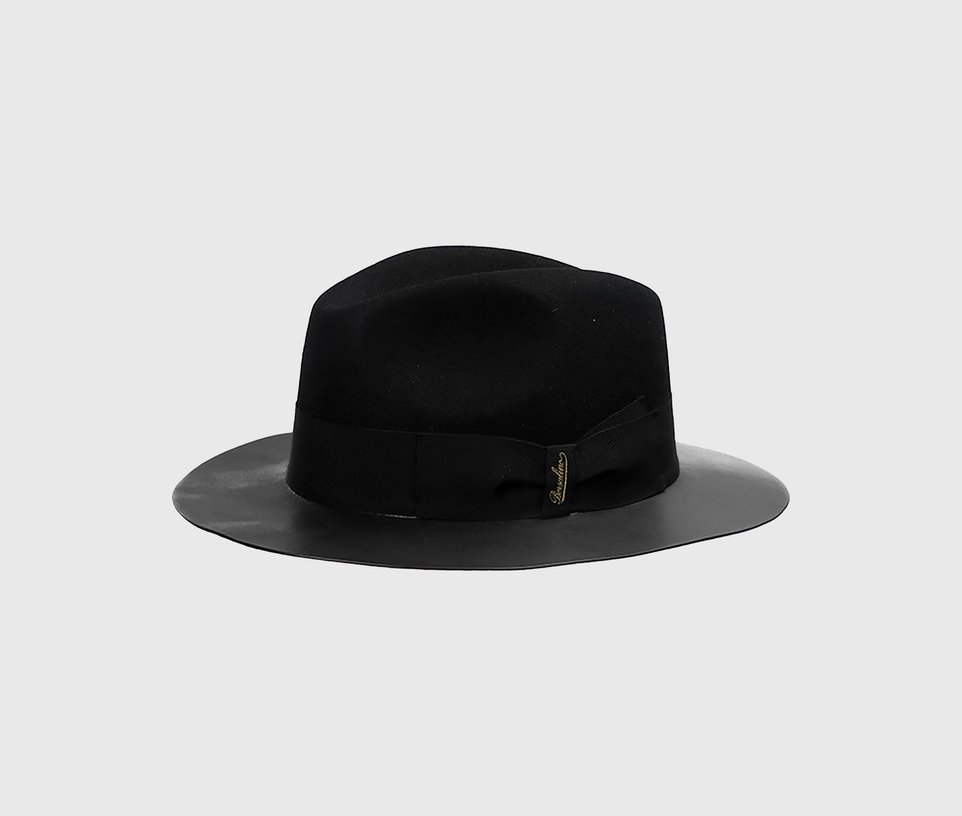 Leather Brim