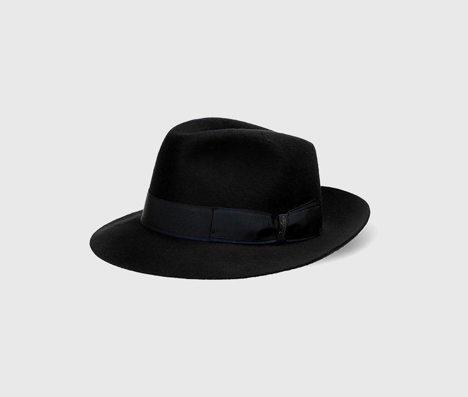 Cashmere two-tone hatband