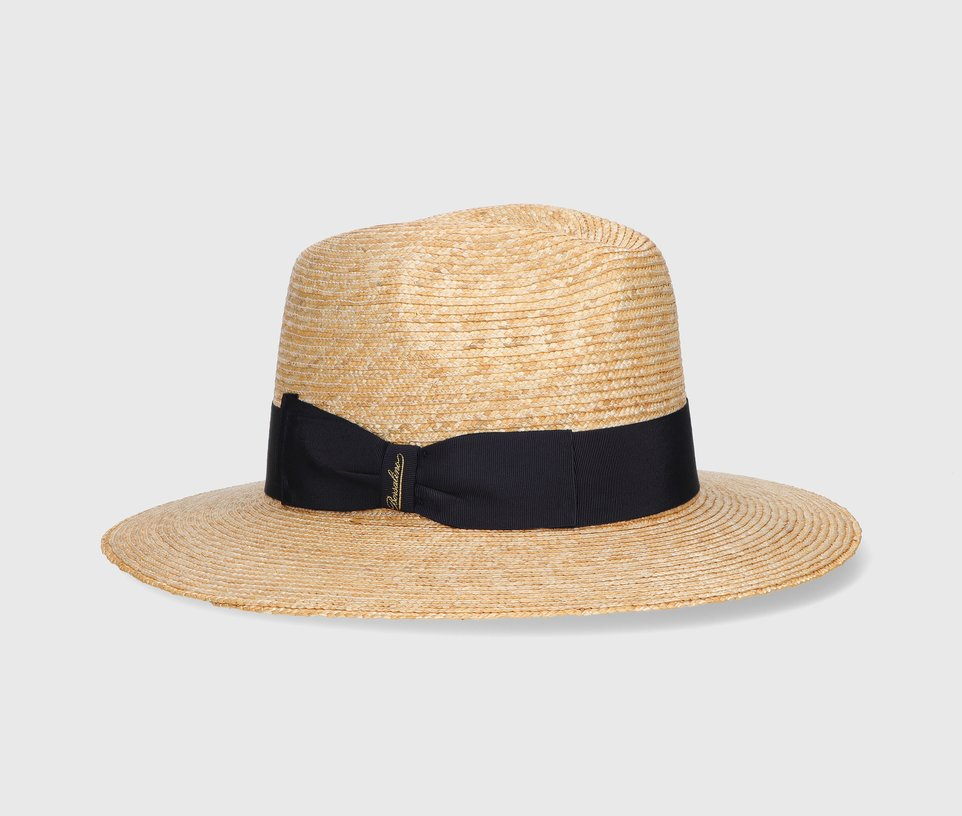 Large brim Woven Straw