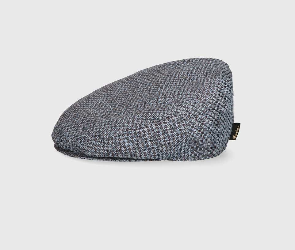 Flat cap textured fabric