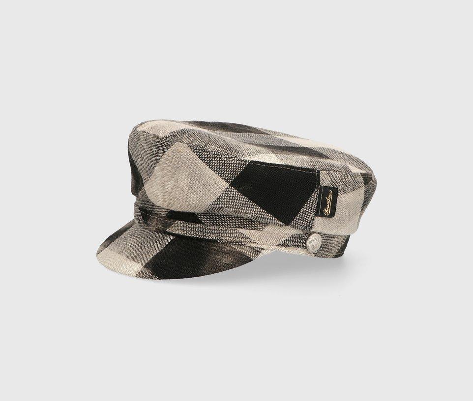 Linen sailor cap