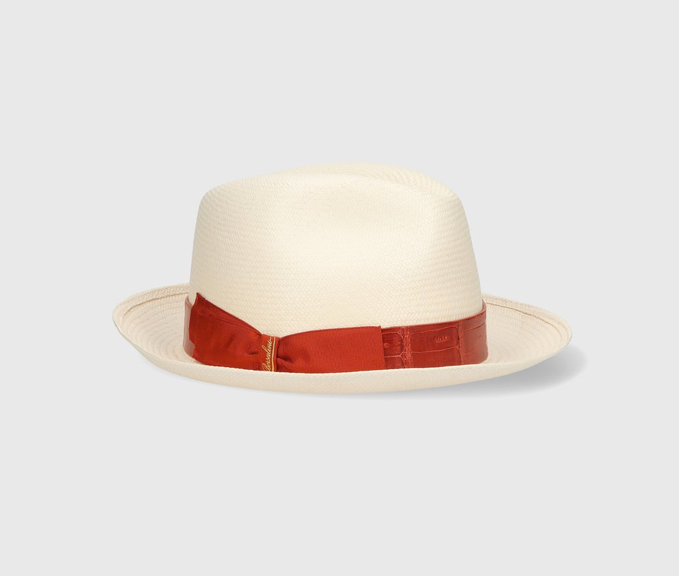 Medium-brim Fine Panama Caiman